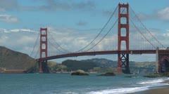 Golden Gate Bridge timelapse 08 HD - stock footage