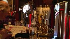 Pub Interior Stock Footage