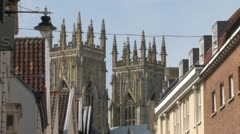 York Old Town Stock Footage