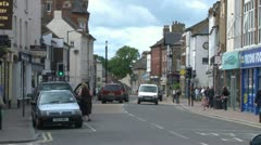 Knaresborough High Street Stock Footage