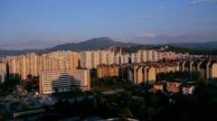Sarajevo vojnicko i alipasino Stock Footage