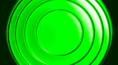 Green Lens fade up down - stock footage