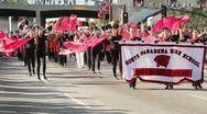 South Pasadena Marching Band Stock Footage