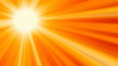 HD Sun Glow Stock Footage