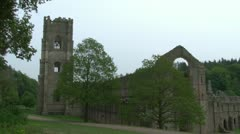Fountains Abbey Stock Footage