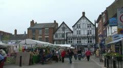 Ripley Market Stock Footage