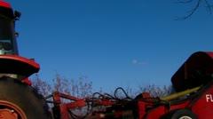 Pecan Harvest 1 Stock Footage