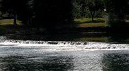 Una river, Bihac, Bosnia and Herzegovina Stock Footage