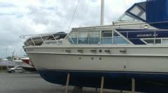 Boat Yard Stock Footage