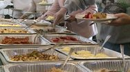 Stock Video Footage of Modglin1970-FoodBreakfastBuffett