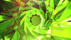 Triangle - 5.1 - Green - Circular - Main - stock footage