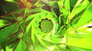 Triangle - 5.1 - Green - Circular - Main Stock Footage