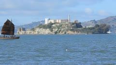 Alcatraz Island 2 Stock Footage