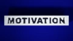 Motivation Stock Footage
