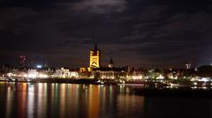 Great Sant Martin church, Cologne - stock photo