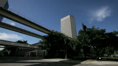 Miami Dade Court House Stock Footage