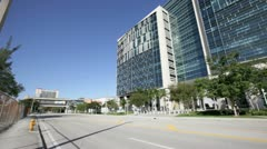 New Federal Courthouse Miami Stock Footage