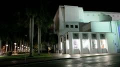 Filmore Theater Miami Beach Stock Footage