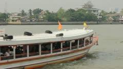 Chao Phraya Express Boat - stock footage