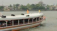 Chao Phraya Express Boat Stock Footage