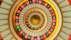 Roulette Stock Footage