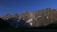 Alpine landscape Stock Footage