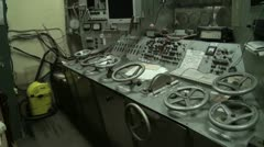 The old control panel - stock footage