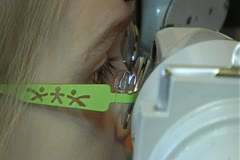 Eye correction Stock Footage