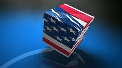 Ballot box US election Stock Footage