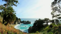 Big Sur 16 - stock footage