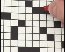 Crossword puzzle V3 - PAL Stock Footage