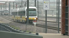 Dallas DART Train (Day) - stock footage