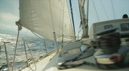 Stock Video Footage of Sailing