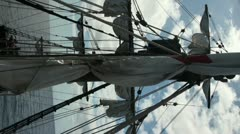 Vertical Sails 20110424 154618 Stock Footage