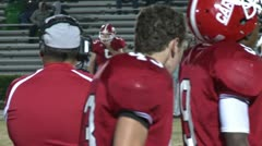 High School Football - stock footage