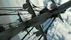 Diagonale Sails 20110424 154653 Stock Footage