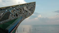 Southern Thai Boat Stock Footage