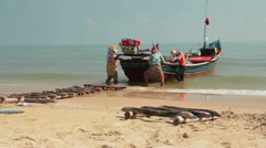 Southern Thai Boat_4 Stock Footage