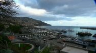 Madeira city and harbour 20110424 200130 Stock Footage