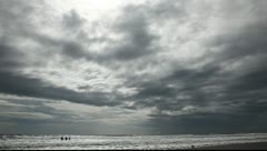Ocean and perfect sky. - stock footage