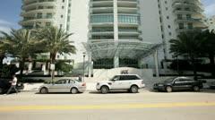 Video of The Jade Condominium at Brickell, Miami FL Stock Footage