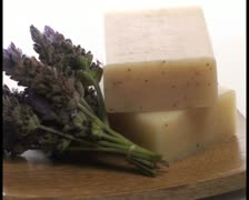 Organic herbal soap V4 - PAL Stock Footage