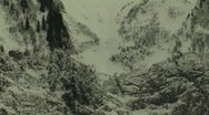 Stock Video Footage of Avalanche bad weather