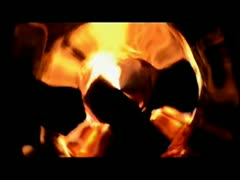 Abstract fire - stock footage