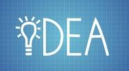 HD: Idea animation with light bulb (PAL) Stock Footage