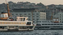 Golden Horn, Istanbul Stock Footage