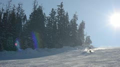 Slalom Stock Footage