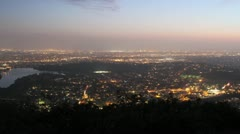 Cowles Mountain - Time Lapse Stock Footage