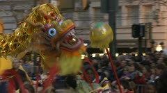 Chinese New Years Parade - San Francisco Stock Footage