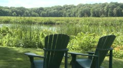 Serene relaxation area (2 of 3) Stock Footage